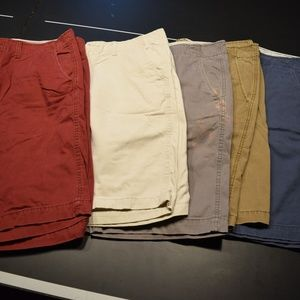 5 Longboard Shorts for the price of 1! All 34W